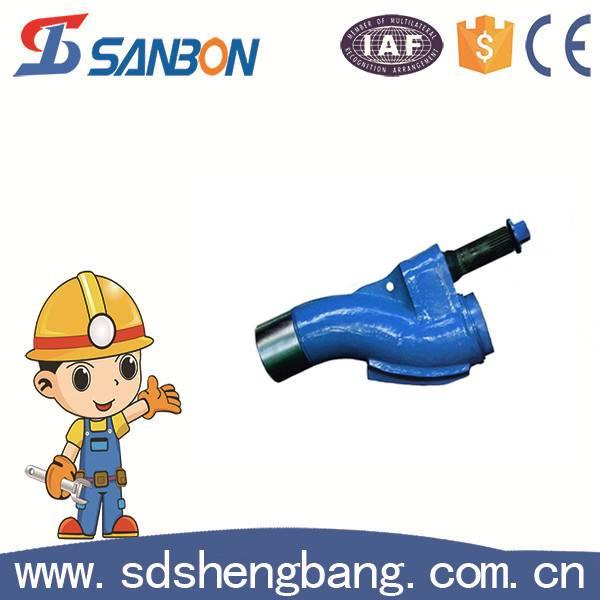 Concrete pump spare parts s valve / concrete pump s pipe
