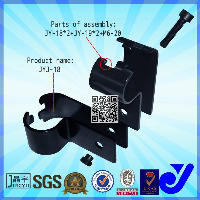 28 diameter Metal Pipe Joint clamp fitting for rack and handing equipmment China Supplier