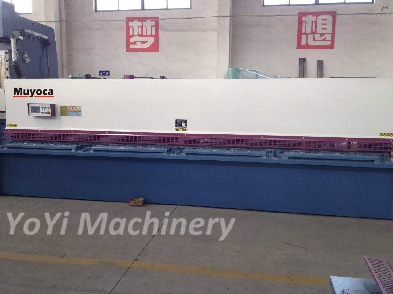 qc12y-4x4000 hydraulic shearing machine