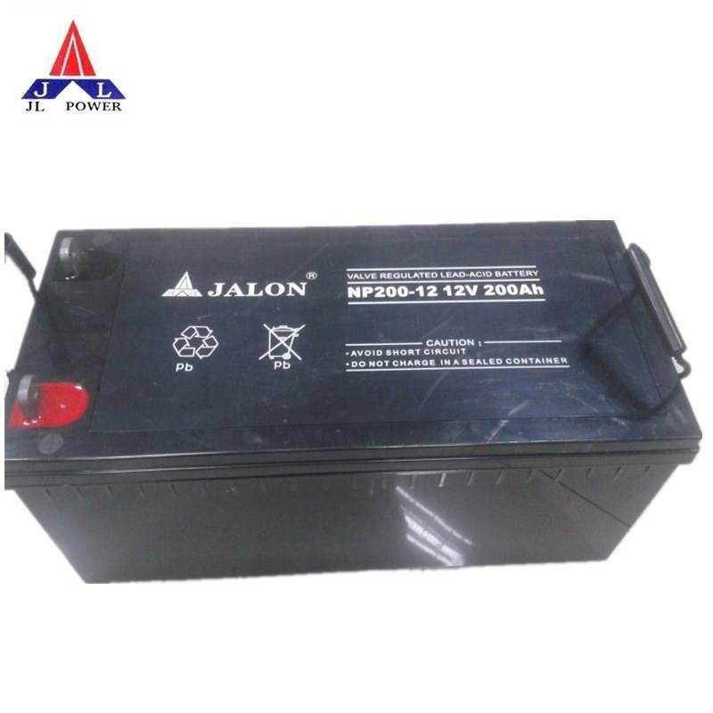 supply Jalon 12V200AH storage battery