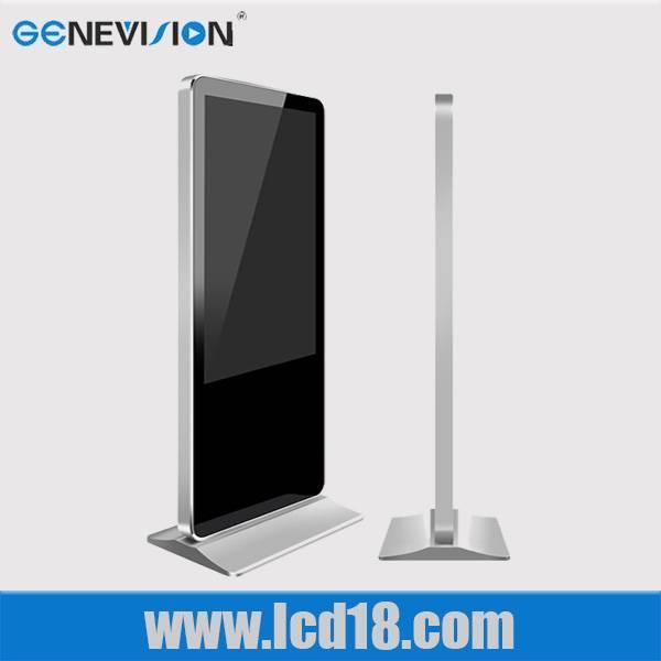 55 inch floor standing kiosk LCD advertising player