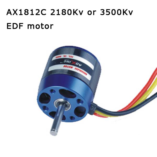 RC airplane model AX1812C 2180Kv or 3500Kv Outrunner electric rc Brushless Motor