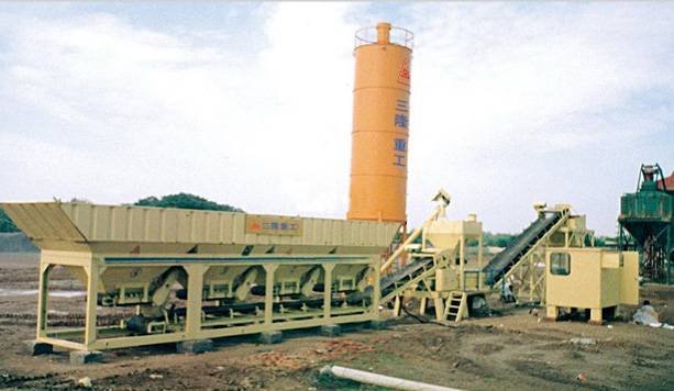 MWCB series of modular stabilized soil mixing plant