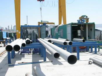 Transportable Piping Prefabrication Production Line