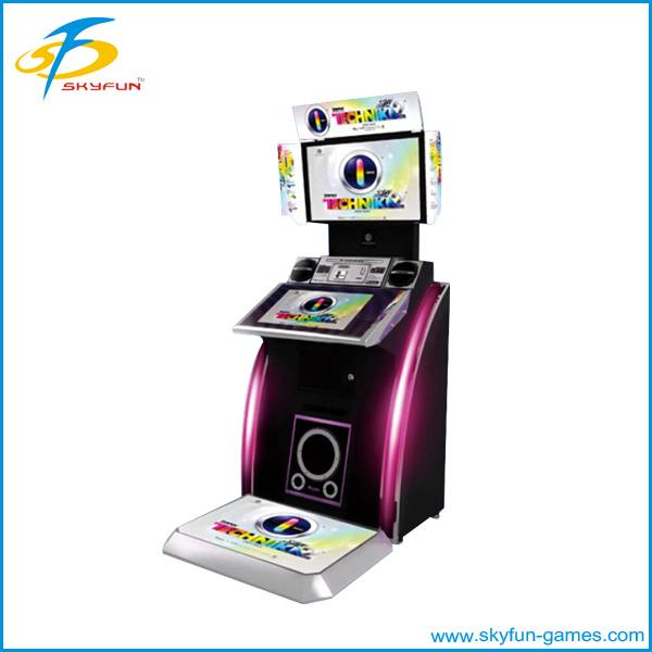 Attractive, stimuate and exciting arcade dancing game machine