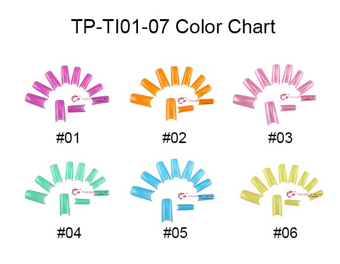 SELL TP-TI01-07 Color Clear French Tip