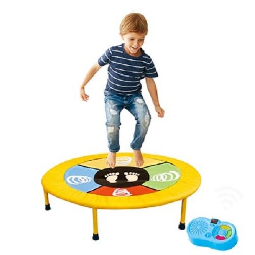 Electronic Mini Dancing Trampoline