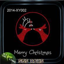 Merry Christmas Wholesale Rhinestone Heat Transfer