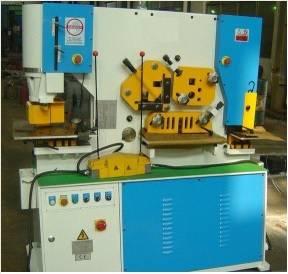 IW-75 Hydraulic Iron Worker(Punching Shearing Machine)