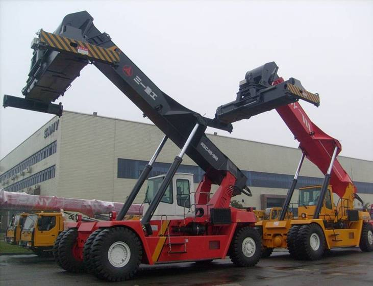 sell sany 45 tons reach stacker