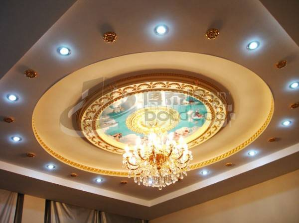 Artistic Integrated round ceilng panel