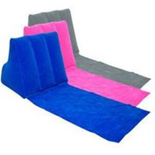 Inflatable Wedge Cushion With Mat Inflatable Wedge Pillow With Groundsheet