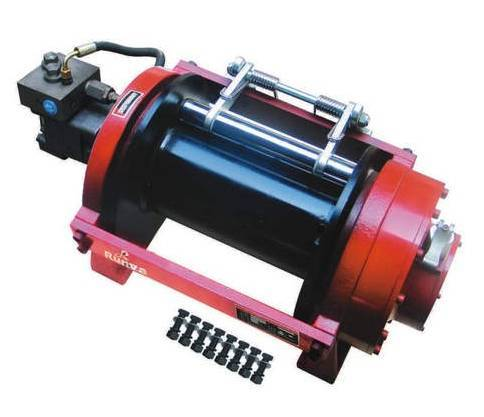 hydraulic recovery winch