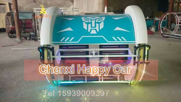 Selling Amusement Ride Electric Kiddie Ride Happy Rotating Racing Ride for Theme Parl