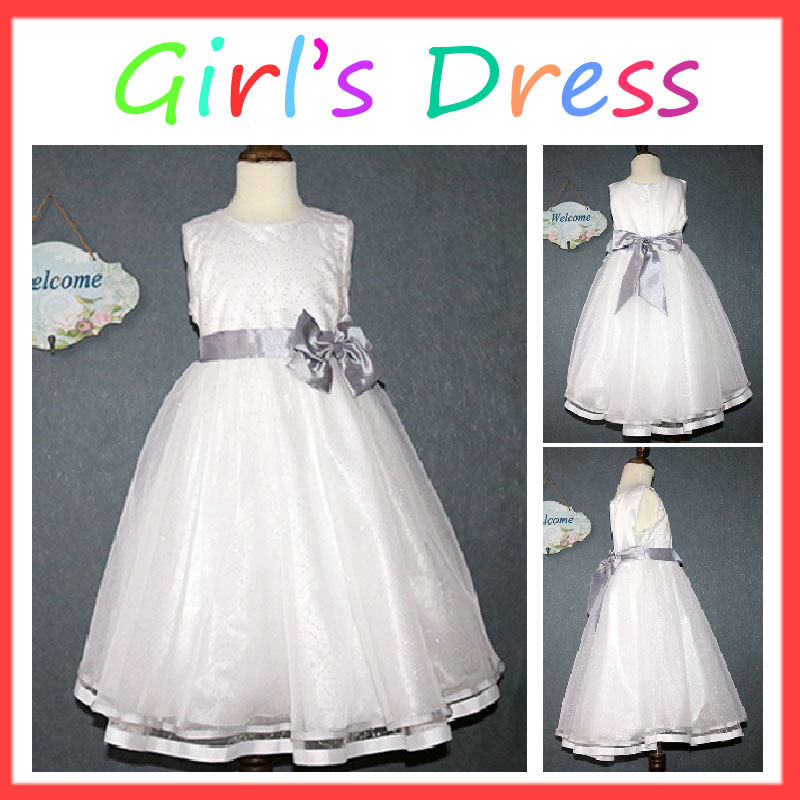 High quality party style 1-6 years old baby girl dress