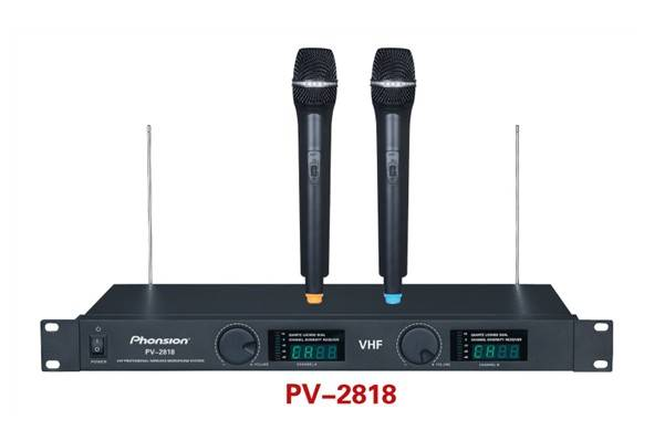 PV-2818 VHF Wireless microphone