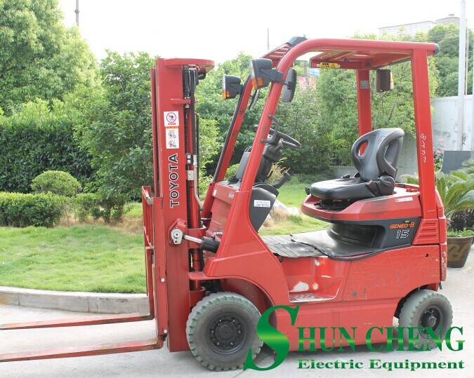 Toyota 1.5T Electric Forklift