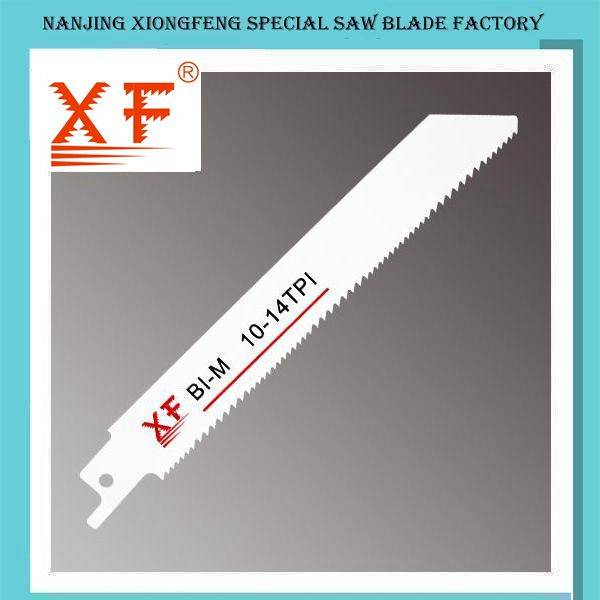 S922VF Bi-Metal Reciprocating Saw Blade for Wood with Nails