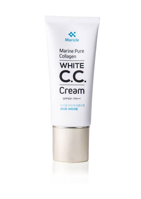Maricle Marine Pure Collagen White CC Cream SPF50+ PA+++