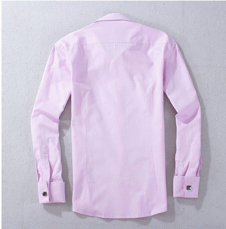 men's french cuff dress shirt