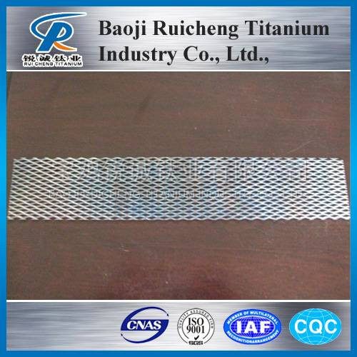 platinium plated titanium anode mesh for hho hydrogen evolution