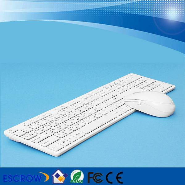 Ultra-Slim 2.4G Colored Wireless Keyboard and Mouse Combo