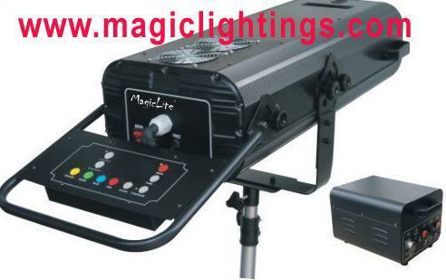 Manual Follow Spot Light HMI2500W Without DMX 512 Control / stage light (MagicLite) M-C003