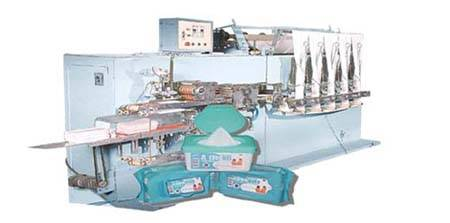 DH-5full-auto High-speed Wet Tissue Machine