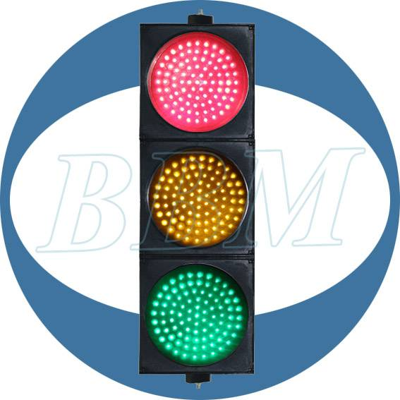200mm RYG full ball traffic signal light