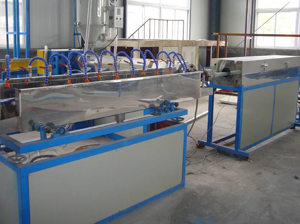 PVC lay-flat hose extrusion line