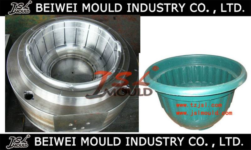 OEM Custom injection plastic flower pot mould
