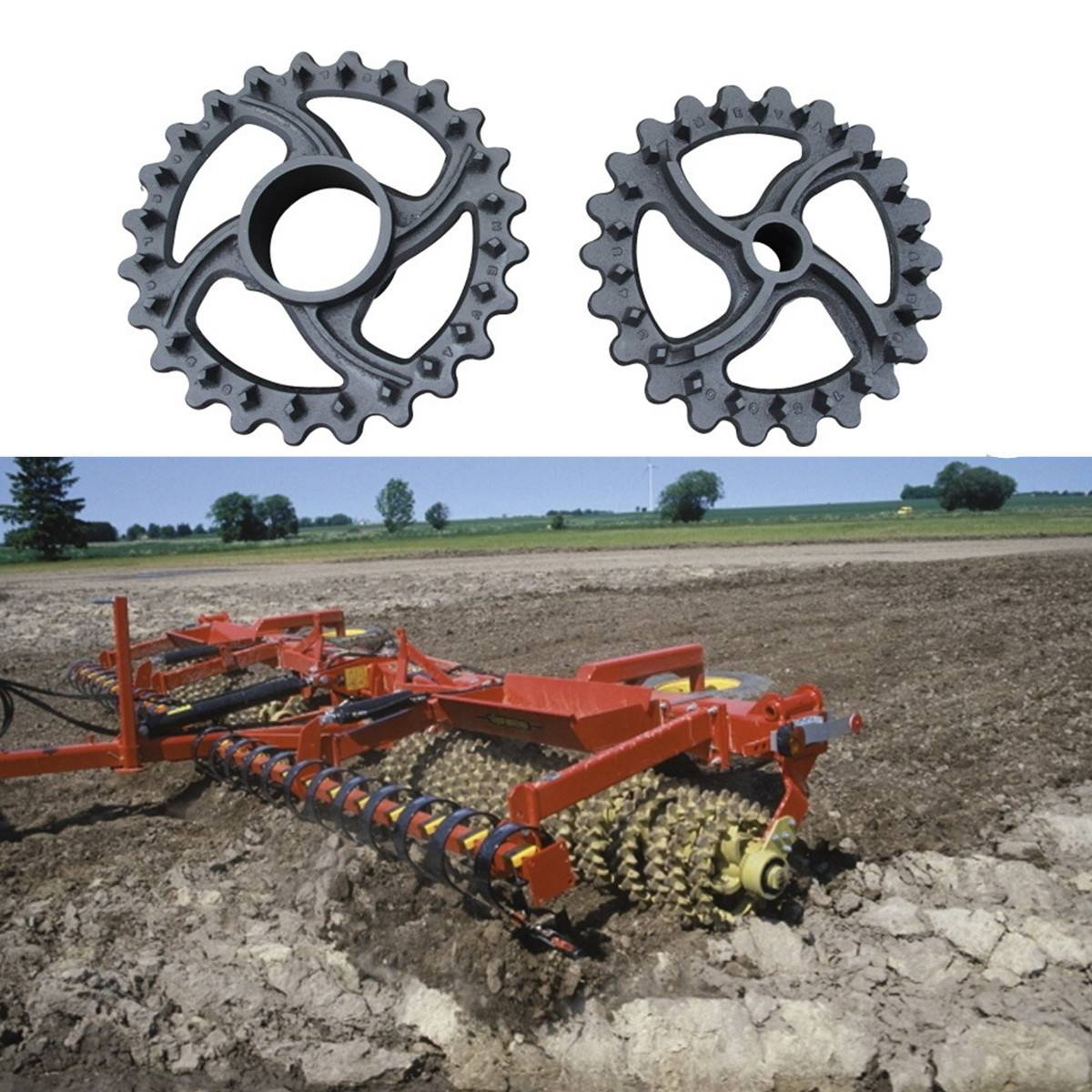 Agricultural Machinery crosskill rings