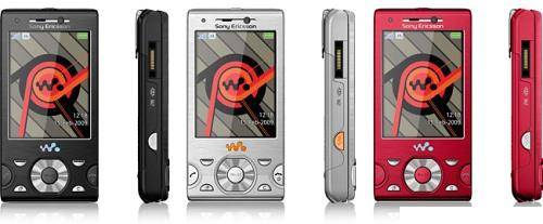 Original unlocked GSM mobile phones Sony Ericsson W995