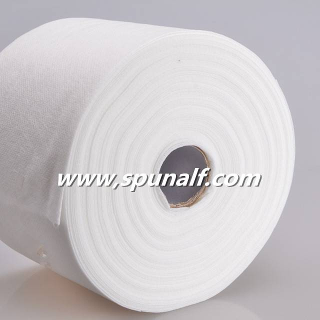 Viscose spunlace nonwoven fabric