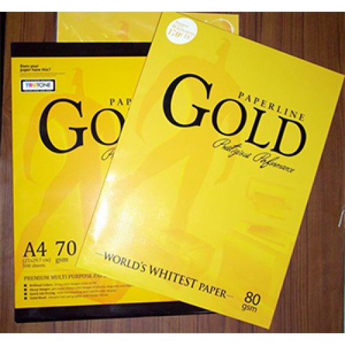 Copy Paper Paperline Gold A4 80GSM/75GSM/70GSM