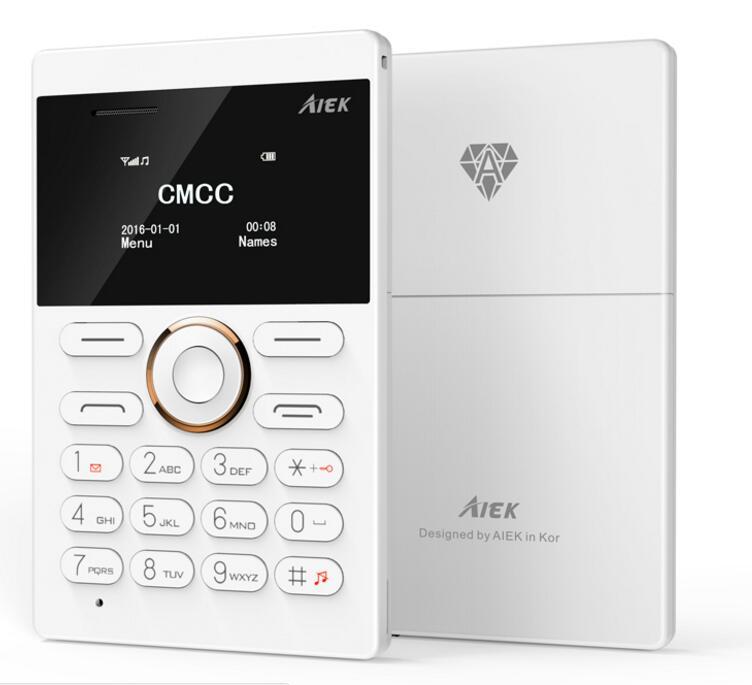 AIEK Mini Phone E1 with Unlocked Keypad