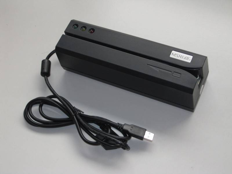 MSR606 - Magnetic Credit Card Reader - Magstripe encoder msr206