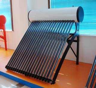 Solar Water Heater with Copper Coil Tank (SF-1800/58-20-SSPH)