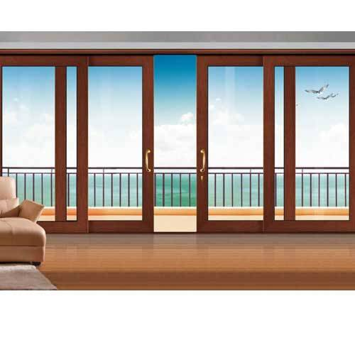 FM125 Professional Double glazing aluminum sliding doors