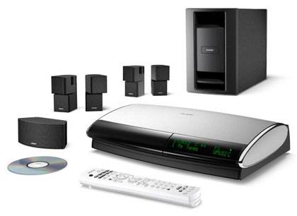 Bose Lifestyle 48 III Home Entertainment System - Black