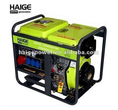 5kw open type diesel generator 3-phase DG6500CL/CX(E)-3