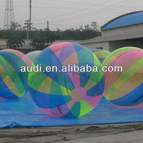 Inflatable walk on water ball,zorb ball,human hamster ball for amusement park