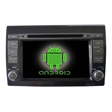 FIAT Bravo in Dash Car DVD Navigation Player and Multimedia Made in China