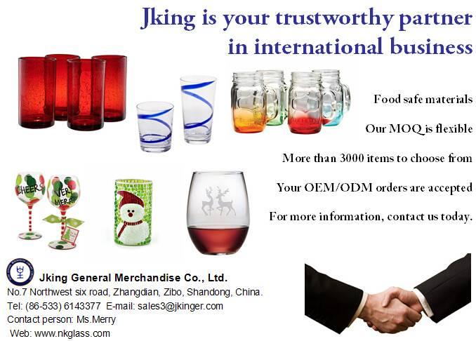 2015 New Christmas Glassware-Jking