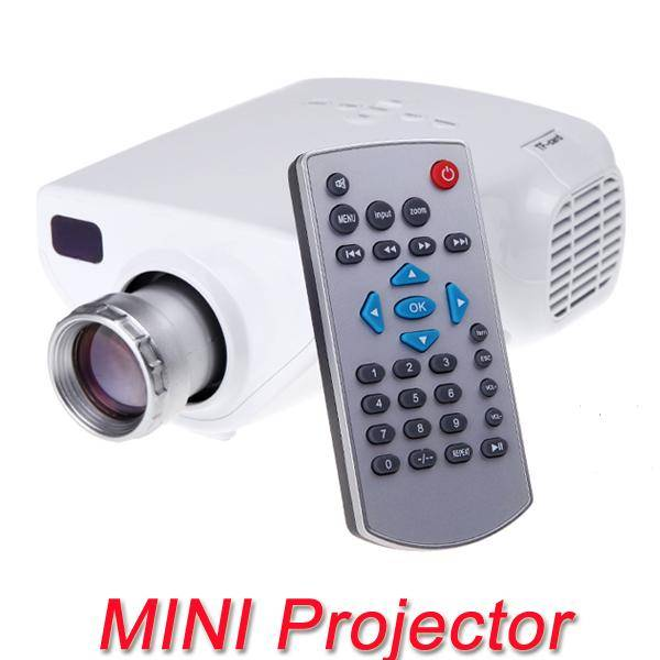 Single-chip technology Portable Home Theater DIY HD Mini LED Projector