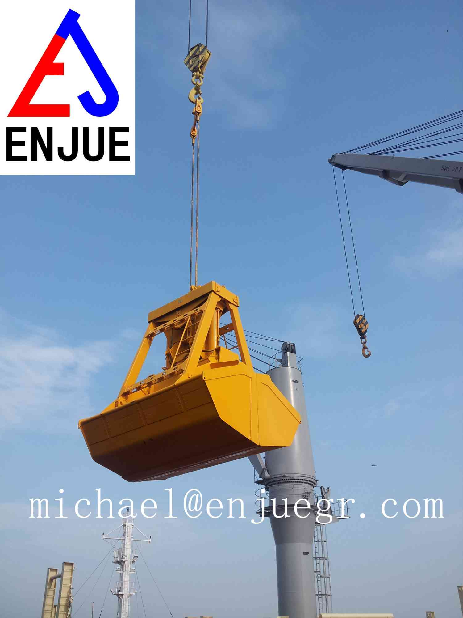 Motor Hydraulic Stone Grab or Metal Grab