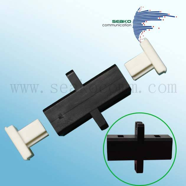 MTRJ/MPO Hybrid Fiber Optic Adaptor