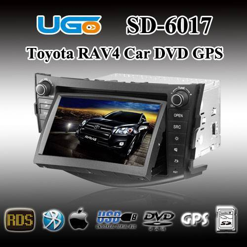 Car DVD GPS Navigation Player For Toyota New RAV4