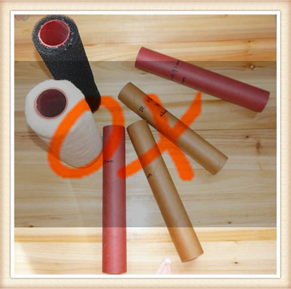 Phenolic paper tube for paint roller core