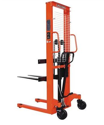 Manual Stacker Hand Pallet Forklift 2 Ton 1.6m